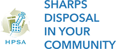 HPSA sharps disposal in your community